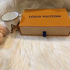 Louis Vuitton Small Wallet Empty Drawer Box